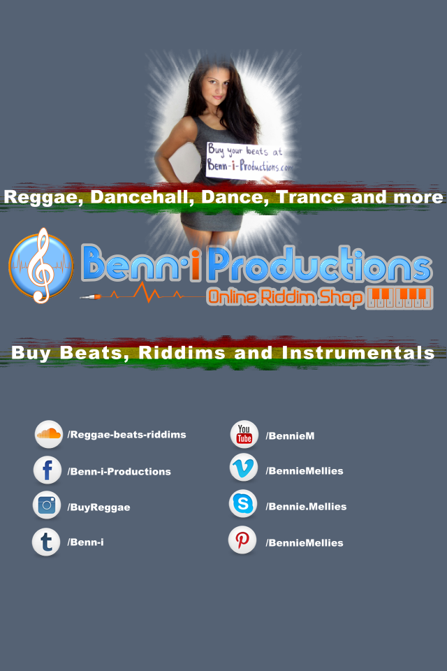 Buy Beats in different Genres - Reggae - Dancehall - Dance Music - Trance Music - More then 30 different Exlusive beats available