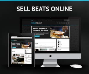 Sell Beats Online with Music Maker Wordpress Theme