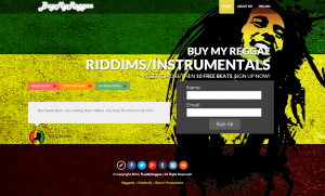 Buy My Reggae dot Com!