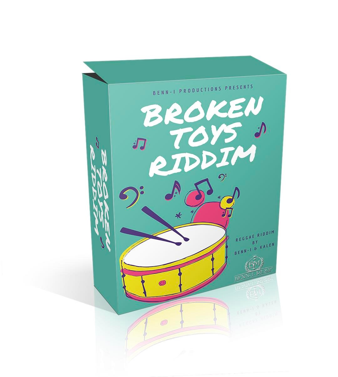 Broken Toys Riddim Reggae melodic  pop tropical hiphop funkyhellip