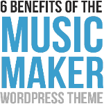 Check out the Music Maker Theme for selling your beats online!