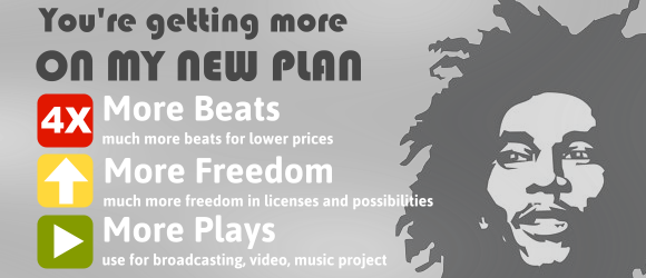 More plays, more beats, more freedom and more possibilities check out the new licenses at Benn-i Productions