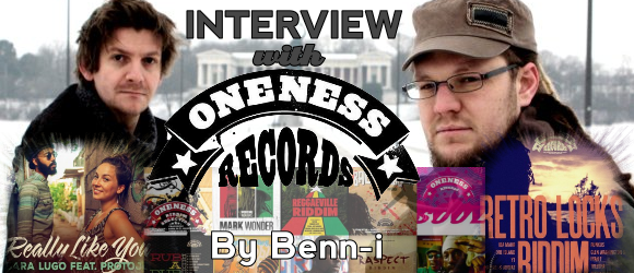 Interview Oneness Records by Benn-i