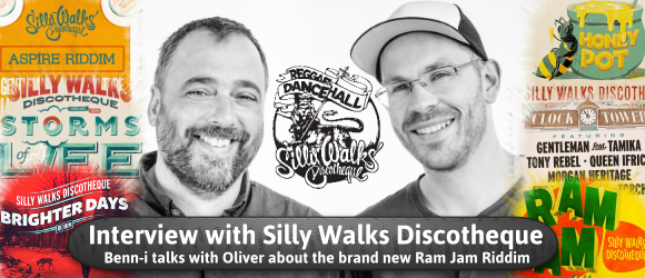 Benn-i Interviews Silly Walks Discotheque - Oliver Schrader about the new Ram Jam Riddim
