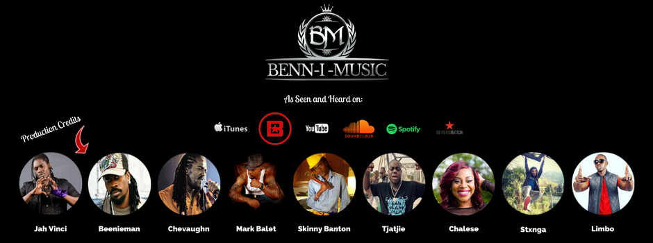 Logo Banner for Benn-i Music