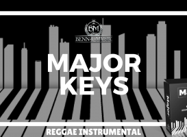 Major Keys Riddim - Reggae Guitar Instrumental Beat Riddim